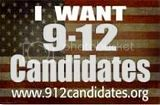 Vote for a candidate who has taken the 9/12 Pledge!